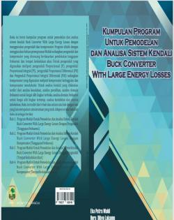 Cover for Kumpulan Program Untuk Pemodelan dan Analisa Sistem Kendali Buck Converter With Large Energy Losses