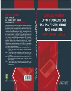 Cover for Kumpulan Program Untuk Pemodelan Dan Analisa Sistem Kendali Buck Converter With Energy Losses
